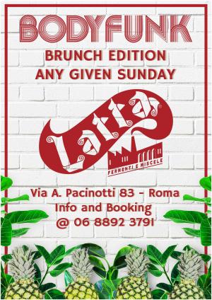 Body Funk Sunday Brunch @ Latta